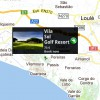 Lage des Golfplatzes über die Landkartenansicht in der App – JTT