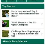 Screenshot - Golf Post Mobile Website - Android