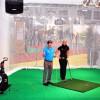 Praxistipps: Paul Dyer und Carolin Löhr von der Leadbetter Golf Academy in der Golf Arena