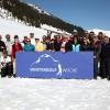 Die Teilnehmer der Lech-Zürs Wintergolf-Woche 2012 hatten ihren Spaß