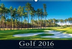 Golfkalender 2016 - Deckblatt - Berliner GCC Motzener See