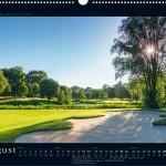 Golfkalender 2016 – Monat August – GC Hamburg Wendlohe