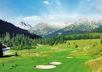 Österreichs höchstgelegener Golfplatz - der GC Lech