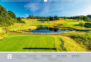 Golfkalender 2017 - Monat August - Golfpark Weiherhof
