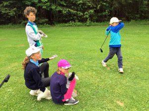 Kinder entdecken den Golfsport als neues Hobby - Foto: © Sabine Koch-Sutter