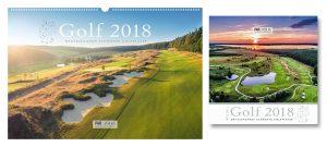 Golfkalender 2018 - im üppigen Panoramaformat und nun auch als Mini-Golfkalender