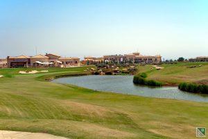 Mit der nicht leichten 18 findet das tolle Layout des Golfplatzes einen gebührenden Abschluss